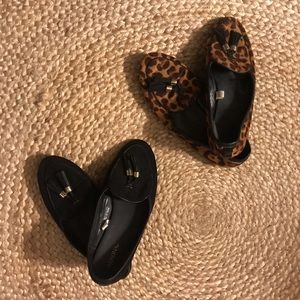 2 pairs of loafers